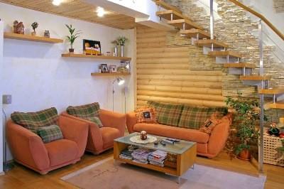 Плавающий каркас для гипсокартона в деревянном доме