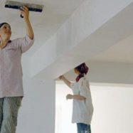 Самостоятельная шпаклевка потолка