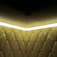 Вариант установки светодиодных лент