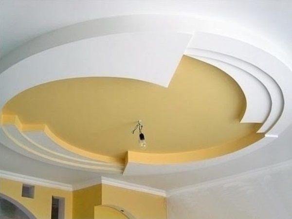 Интересное решение в дизайне подвесного потолка