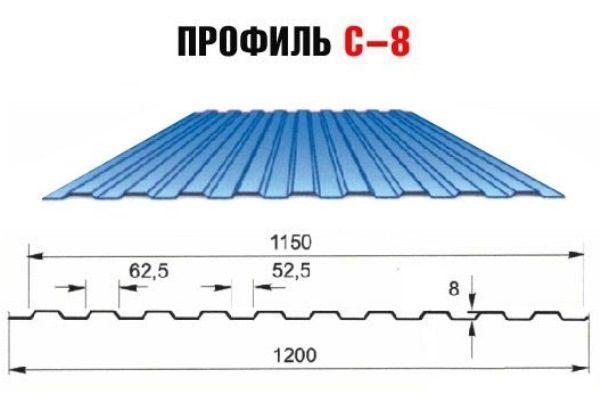 Профиль С-8