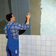 Обшивка стен бескаркасным способом
