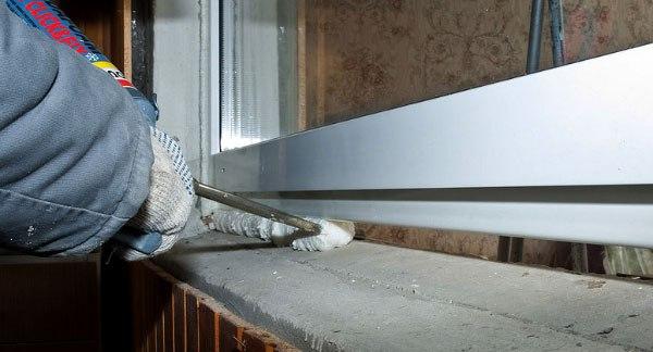 герметизация крыши монтажной пеной