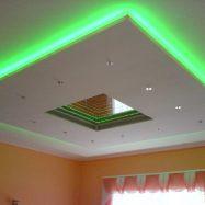 Вариант потолка с подсветкой