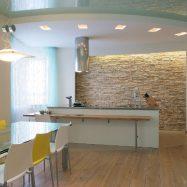 Как может выглядеть помещение оформленное гипсокартонными листами