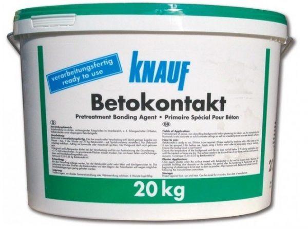 Грунтовка Бетоконтакт