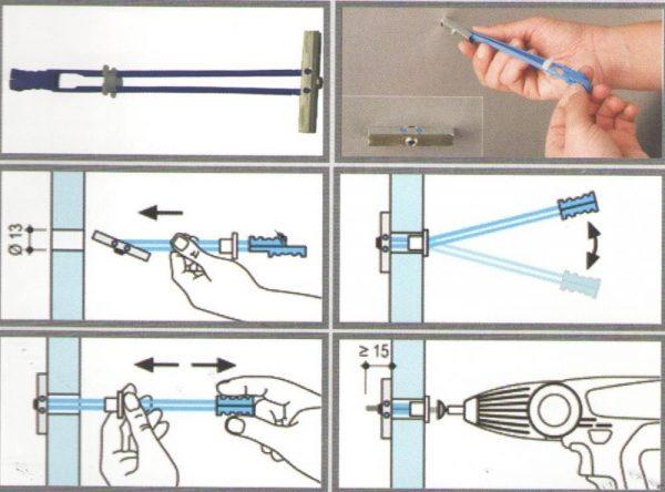 Как повесить полку на гипсокартон