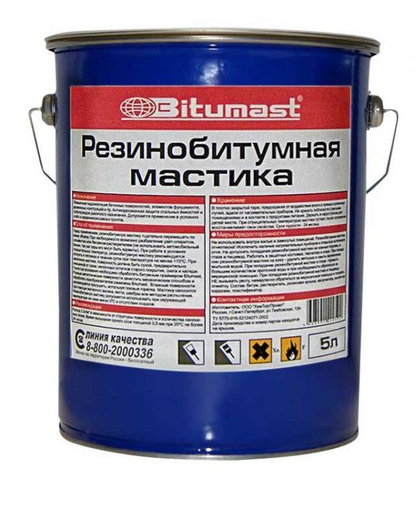 Упаковка Bitumast