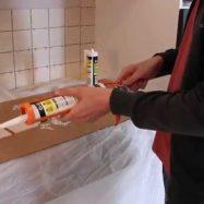 Жидкие гвозди помогут в облицовке плиткой