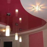Пример фигурного потолка