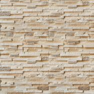 Пример декоративного покрытия из гипса под камень