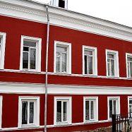 Пример фасадной шпаклевки