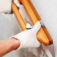 Шпатлевка создает идеальную поверхность стен и потолков