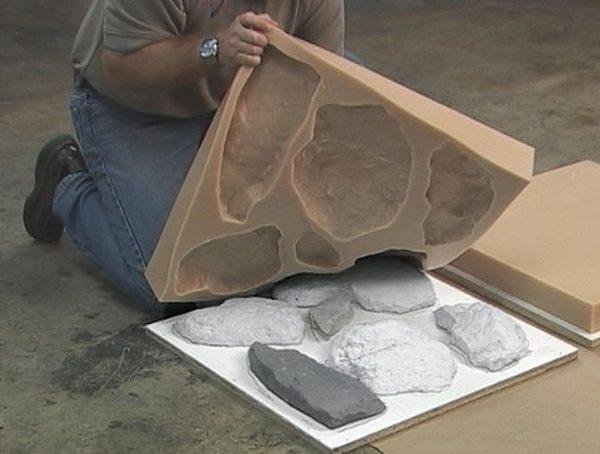 Чем резать гипсовую плитку под камень