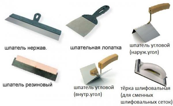 Рабочий инструмент