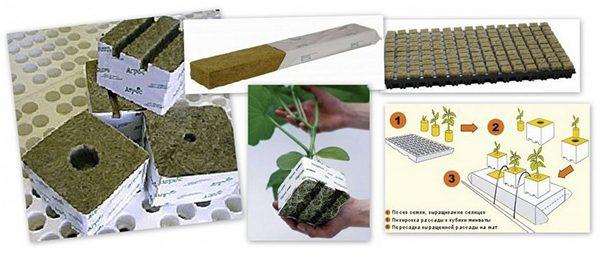 Минвата для растений