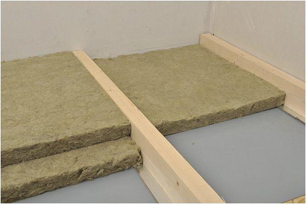 Правила утепления пола каменной ватой, разновидности материала, особенности укладки