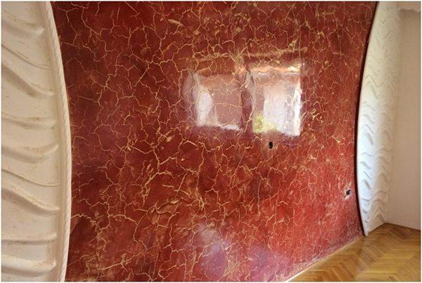 Оформленная стена