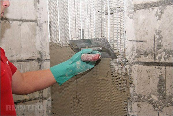 Цементно-известковая смесь
