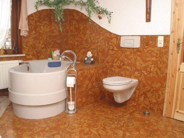 Покрытие в ванной