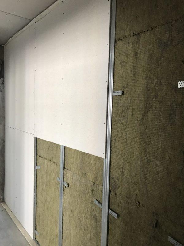 Стена со звукоизоляцией