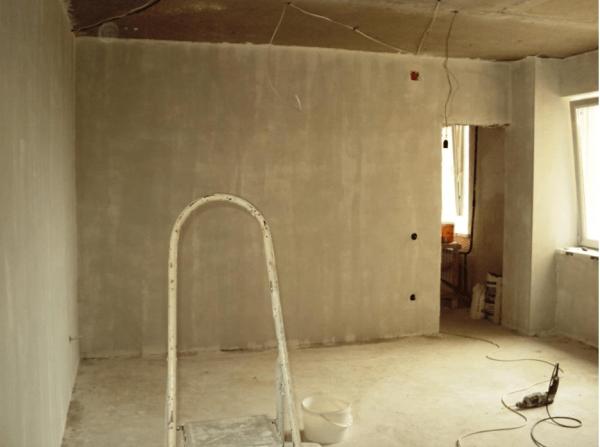 Сколько сохнет Ротбанд на стенах при внутренней или наружной отделке