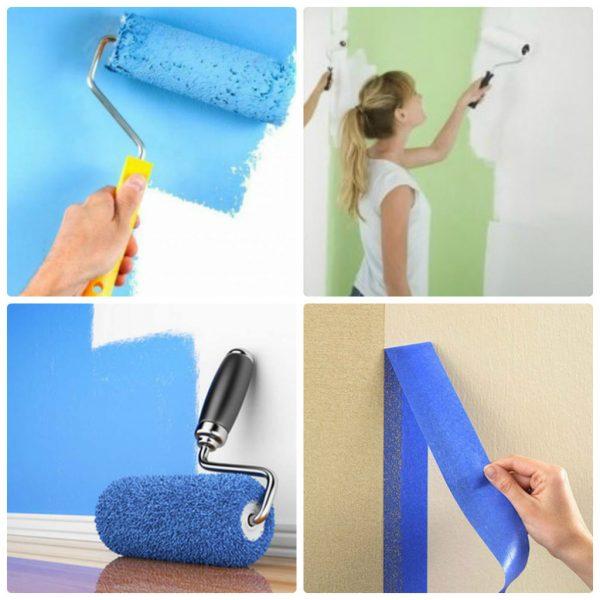 Как самостоятельно подготовить и покрасить поверхность стен в небольшом туалете - Дача
