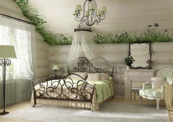 Обустройство спальни