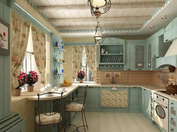 Уют на кухне