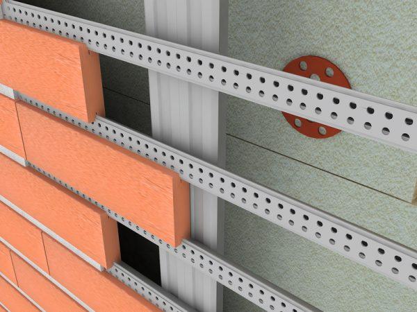 Как сделать вентилируемый фасад из клинкерной плитки: этапы работ с фото - Дача