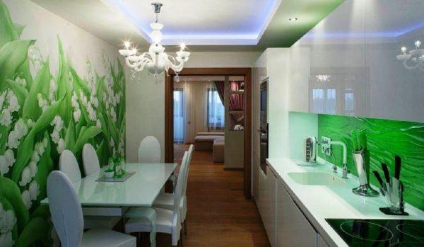 Травянисто-зеленая палитра