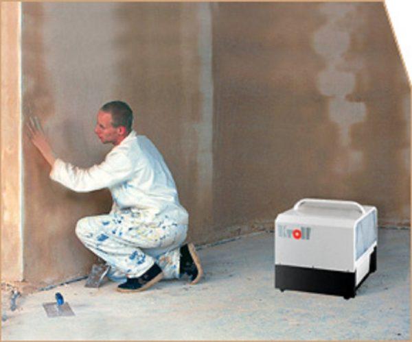 Ускорение высыхания стены