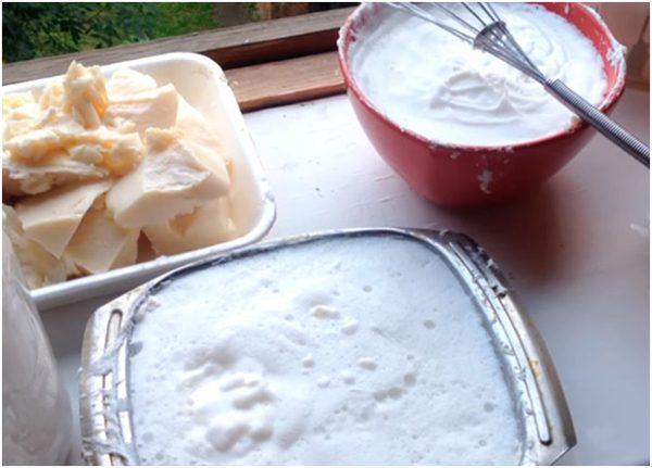 Приготовление из мыла