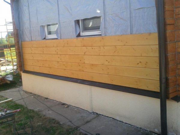 Облицовка фасада