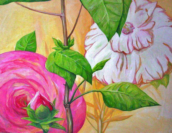 Пример с цветком