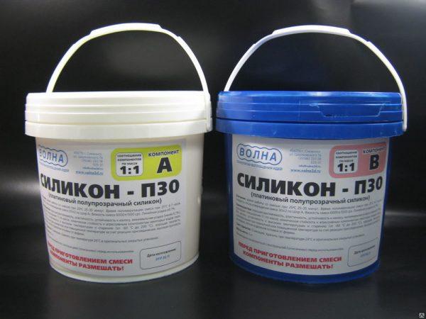 Двухкомпонентный силиконовый герметик