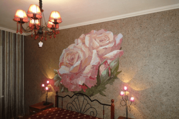Роза как акцент