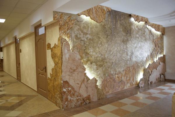 Декоративные стены