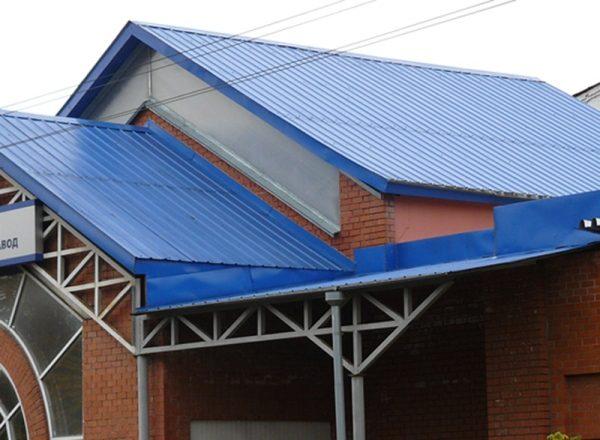 Использование для крыши
