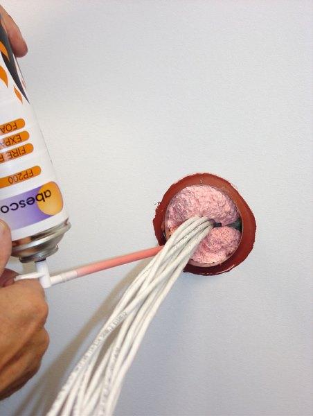 Использование герметика