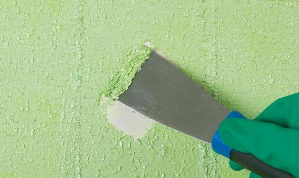 Удаление краски