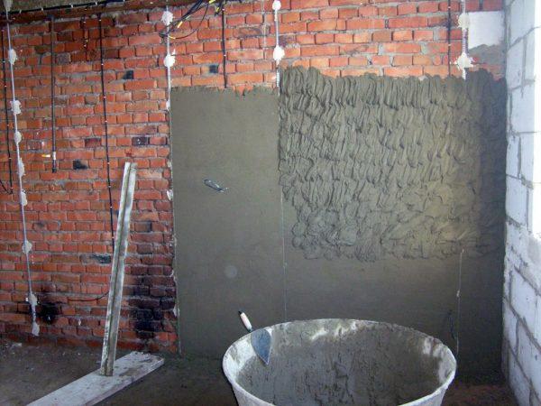 Цемент и песок