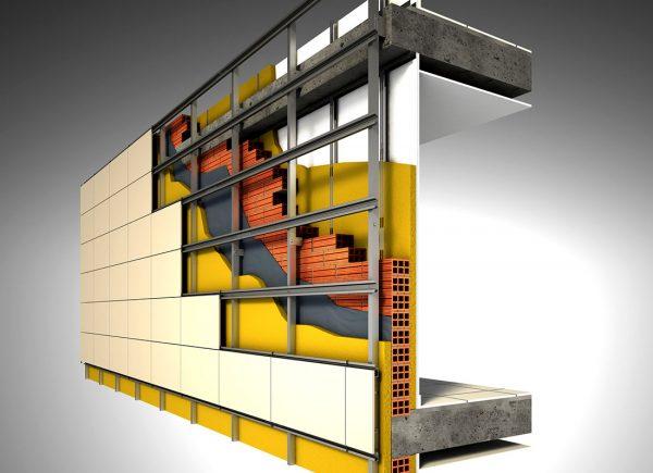Система навесного фасада
