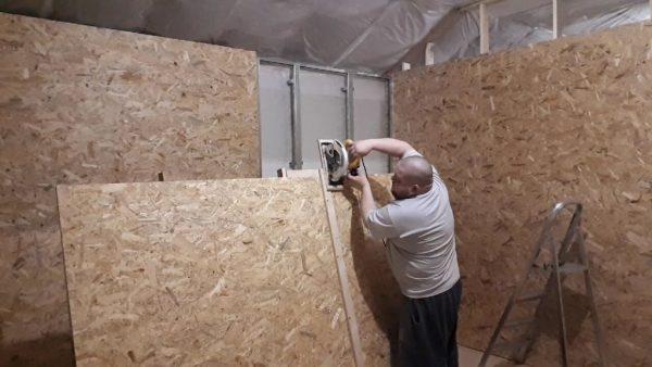 Работа со стеной