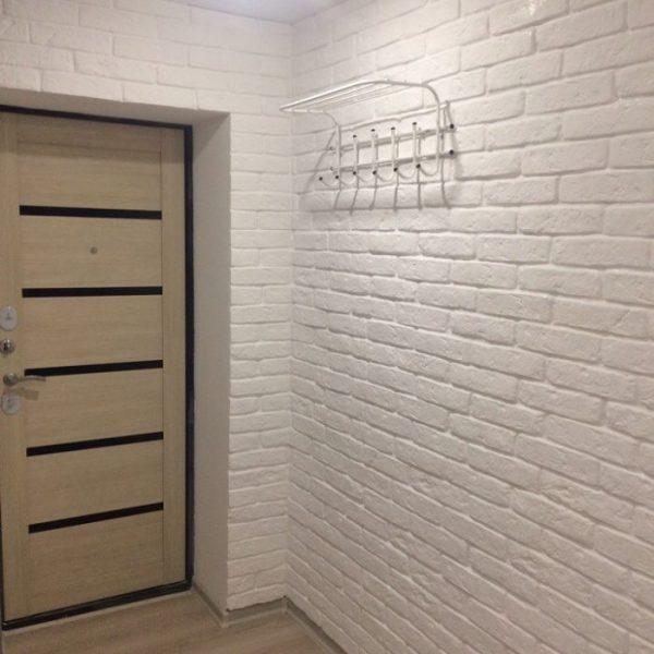 Гипсовый декоративный кирпич для внутренней отделки в интерьере